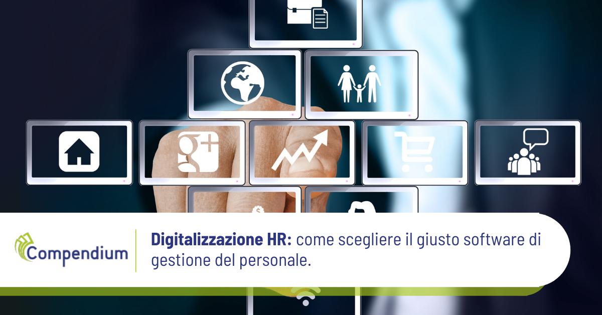 Digitalizzazione HR: come scegliere il giusto software di gestione del personale.