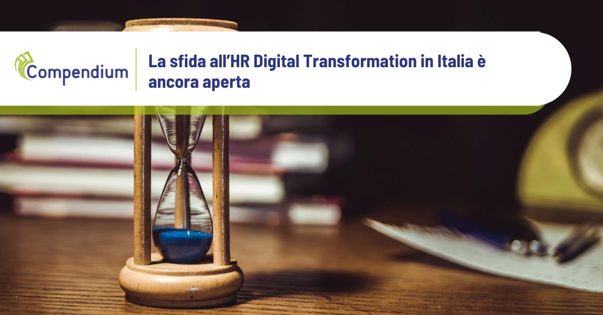 HR Digital Transformation sfida aperta in Italia