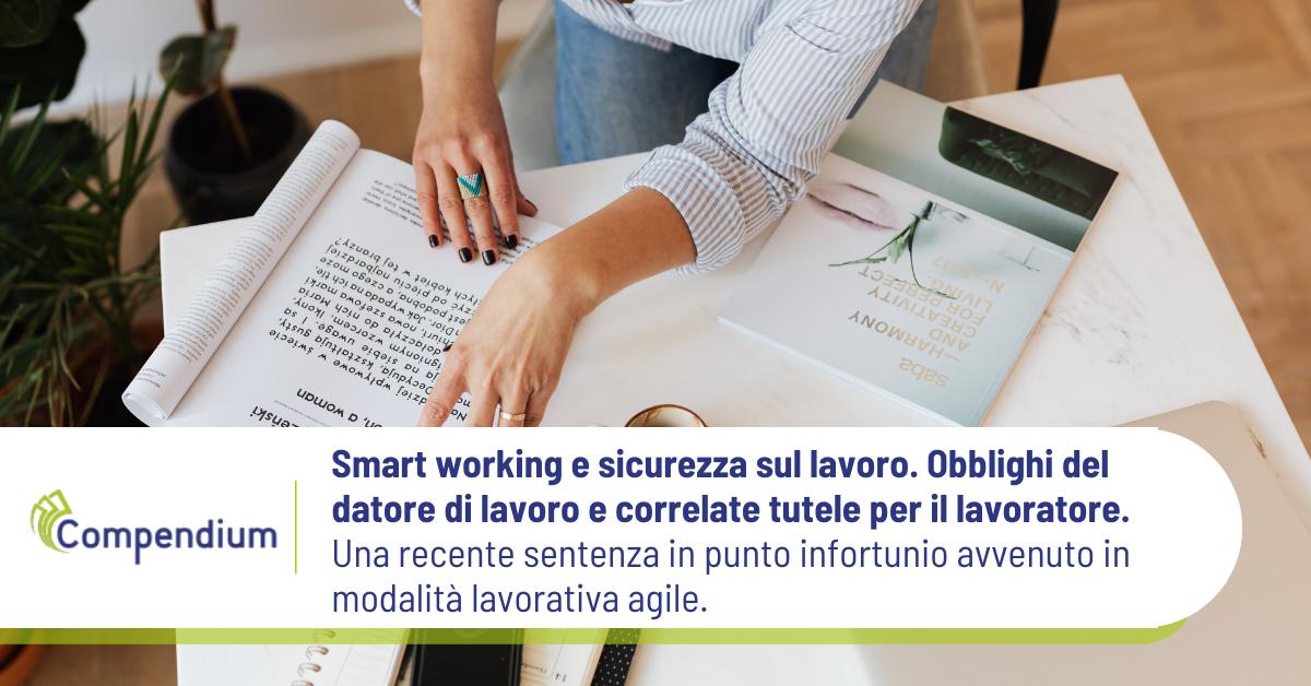 Smart working e sicurezza lavoro