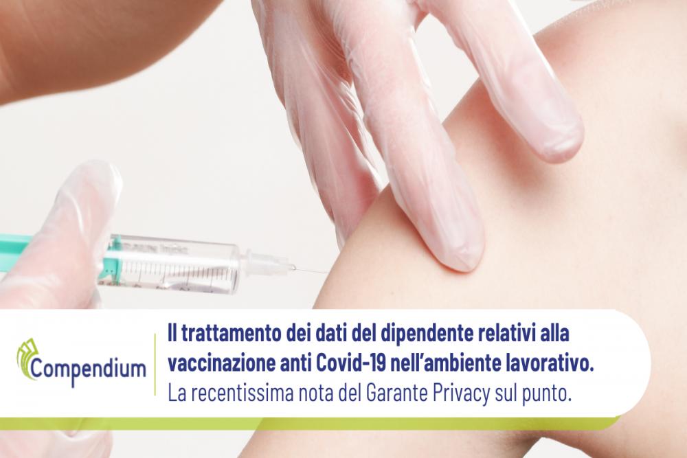 Vaccinazione Covid 19 lavoratori