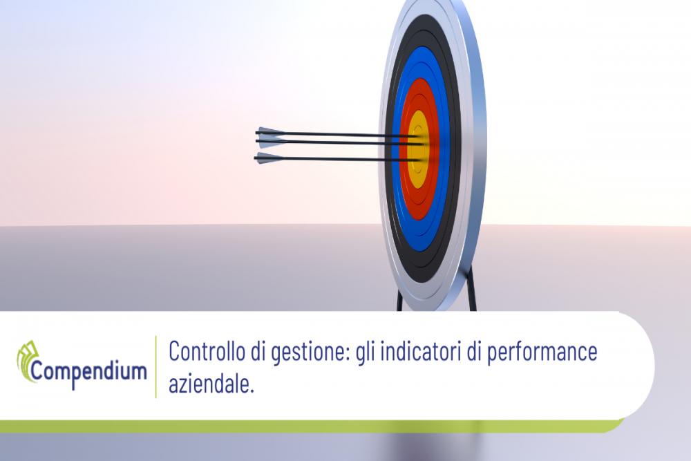 Controllo di gestione indicatori di performance